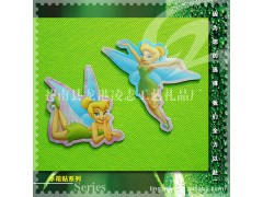 厂家生产供应 蜻蜓美少女合成树脂冰箱贴 磁性冰箱贴树脂