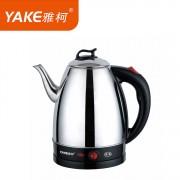 小家电热水壶 YKS-1502B电热水壶 全钢加厚防漏电热水壶 家用电器