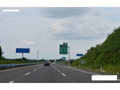 成绵高速公路户外广告立柱式高炮牌